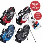NEW 2017 CALLAWAY MENS X SERIES STAND BAG GOLF CARRY BAG-6 WAY TOP + FREE GIFT