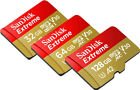 sandisk 128gb extreme sd card memory card - SanDisk Extreme A1 100MB/s 128GB 64GB 32GB micro SD SDHC SDXC Card Lot Class10