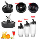 Jackknife Assembly & 18/24/32oz Cup Lids For 900W 1000W Nutri Ninja Blender Auto-iQ