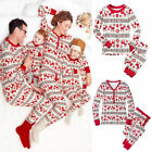 Family Mums Matching Christmas Pajamas PJs Sets Xmas Gift Sleepwear Nightwear