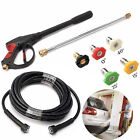 US 3000/4000PSI High Pressure Car Power Washer Spray Gun Wand/Lance Nozzle Hose