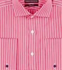 Mens Shirt Sartorial Slim Fit Luxury Cotton French Double Cuff