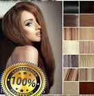 AAAAA Clip in 100% Human Hair Extensions Full Head CLEARANCE UK STOCK FAST