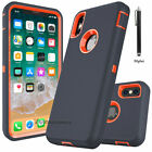 For Apple iPhone X XS Max XR Case Cover Protective Hybrid Rugged Shockproof Hard