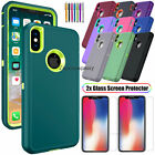 Внешний вид - For Apple iPhone X XS Max XR Case Cover Protective Hybrid Rugged Shockproof Hard