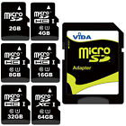 Micro SD SDHC SDXC Memory Card High Speed Class UHS-1 For HTC Cell Phone Tablet
