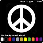 Peace Sign Logo Sticker Vinyl Decal Love Hippie Symbol Car Window Buy2get1free
