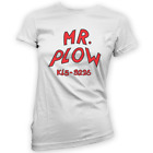 Mr Plow Womens T-Shirt -x14 Colours- Gift Present Funny Truck TV Snow Prop Meme