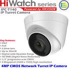HiWatch IPC-T140 4MP POE IP67 30m IR CMOS IP Network Turret camera by Hikvision