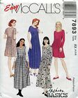 McCall's Fashion Basics Sewing Pattern 7893 Misses' Dress in Two Lengths, Uncut