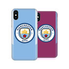 MANCHESTER CITY MAN CITY FC BADGE KIT 2017/18 BACK CASE FOR APPLE iPHONE PHONES