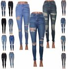 Jamie denim jeans Skinny Ripped Distressed High Waisted UK Size 6/8/10/12/14/16