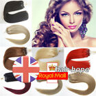 7A Silicone Micro Ring Beads Loop Tip Indian Real Remy Human Hair Extensions1G/S
