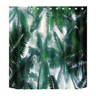 Bath Mat Shower Curtain Polyester Obscured sky Waterproof Fabric YL5794