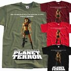 PLANET TERROR Ver. 1, Robert Rodriguez, poster T SHIRT all sizes S to 5XL