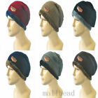 Men Women Winter Beanie Baggy Warm Wool Fleece Ski Cap Hip-Hop Wool Knitted Hat