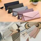 Women Synthetic Leather Bifold Clutch Long Wallet Cash Card Holder Purse DZ88