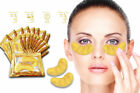 ❤❤ 10 x Pairs Crystal Collagen Premium 24k Gold EYE MASK Gel Powder Anti-Aging❤❤