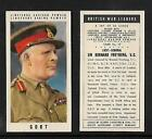 Type Cards: Lingford - BRITISH WAR LEADERS EX cond.