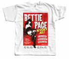 Bettie Page Reveals All, poster T SHIRT all sizes S to 5XL