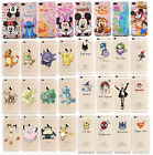 Cute See Through Silicone Rubber Kawaii 3d Case Cover For Iphone 5 6 7 8 Plus