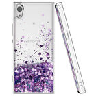 For Sony Xperia XZ3, XZ2, XA2,XA1, L1,L2 Glitter Liquid Quicksand TPU Case Cover