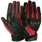 SALE Weise Airflow Plus Red Short Motorcycle Glove Mesh Summer Air Flow Gloves