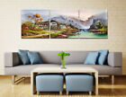 NEW Abstract Wall Art Print Painting Canvas Decor Frame SPA Zen Parrot Waterfall