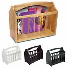 New Wooden Magazine Rack Newspaper Mail Shelf Storage Holder Stand with Handle