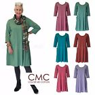 CMC by COLOR ME COTTON USA  3952  Supima Jersey  A-LINE POCKET DRESS  2017 FALL $28.35 USD on eBay