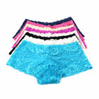 Womens Ladies French Lace Panties Knickers Boy Shorts Underwear