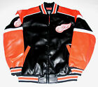 Detroit Red Wings Faux Leather Jacket Men's size Large or X-Large, New w/Tag