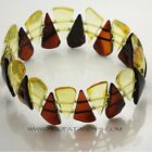 BEAUTIFUL GENUINE NATURAL BALTIC AMBER BRACELET Adult Size