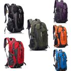 40L Waterproof Men Women Hiking Move Backpack Camping Outdoor Shoulder Bag US
