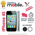 Apple iPhone 4S - 8GB 16GB 32GB 64GB - Unlocked - All Networks - Various Colours <br/> FREE NEXT DAY DELIVERY | AMAZING PRICE | FULLY TESTED