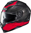 HJC IS-17 Full Face Street Motorcycle Sport Touring Helmet Tario Black Red