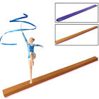 home gymnastics beam - Training Home Gym Kids Folding Gymnastics Balance Beam 8ft Cheer leading