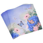 1Pack/20pcs Butterfly Flower Print Paper Napkins Tissue Party Ornament Decor