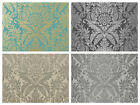 Crown Signature Wallpaper - Smooth Quality Damask Wallcoverings - Classic Decor