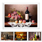 Modern Canvas Print Painting Picture Red Wine Wall Hanging Home Decor Unframed