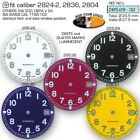 DIAL FOR MOVEMENT ETA 2824-2 or SW 200, Ø 28.5MM, different colors 285.28-32
