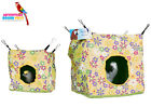 *NEW* SKY PETS LUXURY FLOWERY CUBE HANGING BIRD CAGE BED PARROT PARAKEET 2 SIZES