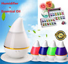 essential oil diffuser ultrasonic - LED Essential Oil Diffuser Aroma Ultrasonic Humidifier Aromatherapy Air Purifier