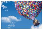 Disney Up - Coloured Balloons Children Cartoon Poster / Canvas Picture Print
