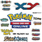 UK NEW Pokemon Trading Card Online PTCGO Codes All Sun & Moon XY Sets!