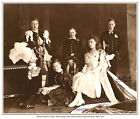 KING GEORGE VI, KING EDWARD VIII, PRINCE HENRY,PRINCE ALBERT,PRINCESS MARY PRINT