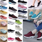 Sports Sneaker Lace Up Platform Walking Shoes Lady Shape Up Toning Fitness Flats