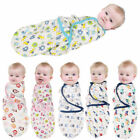 US SALE Newborn Baby Swaddle Wrap Soft Plush Blanket Swaddling Warm Sleeping Bag