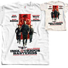 Inglourious Basterds V1, movie poster, T SHIRT NATURAL WHITE all sizes S to 5XL