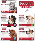 BEAPHAR FIPROTEC FLEA SPOT ON TREATMENT FOR SMALL,MEDIUM,LARGE,XL DOGS & CATS